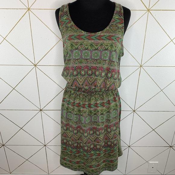 Patagonia West Ashley Dress Boho Keyhole Back M